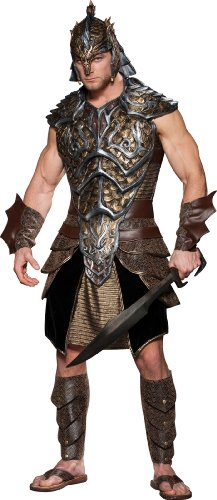 InCharacter Costumes Dragon Lord Costume, Black/Gold, Medium