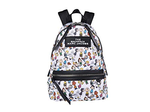 Marc Jacobs The Backpack Peanuts White Multi One Size