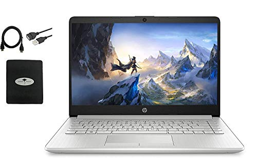 Newest HP 14' HD Laptop for Business and Student, AMD Ryzen3 3250U (up to 3.5 GHz), 16GB RAM, 512GB SSD, Ethernet, USB-A&C, Webcam, WiFi, Bluetooth, HDMI, Fast Charge, Win10 S, w/GM Accessories