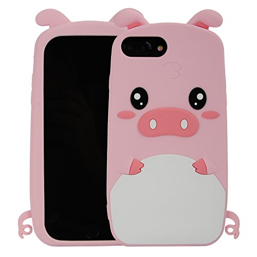 iPhone 7 Plus Case,iPhone 8 Plus Case,Phenix-Color 3D Cute Cartoon Soft Silicone Mickey Mouse Hello Kitty Love Bear Gel Back Cover Case for iPhone 7 Plus/iPhone 8 Plus 5.5 Inch (#54)