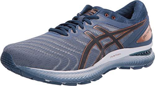 ASICS Men's Gel-Nimbus 22 (4E) Running Shoes, 12XW, Glacier Grey/Graphite Grey