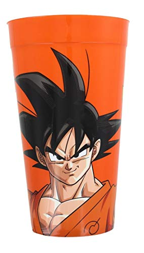 JUST FUNKY Dragon Ball Z Resurrection Goku 16oz Orange Plastic Cup