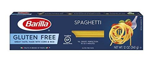 BARILLA Gluten Free Spaghetti, 12 ounce, Pack of 12