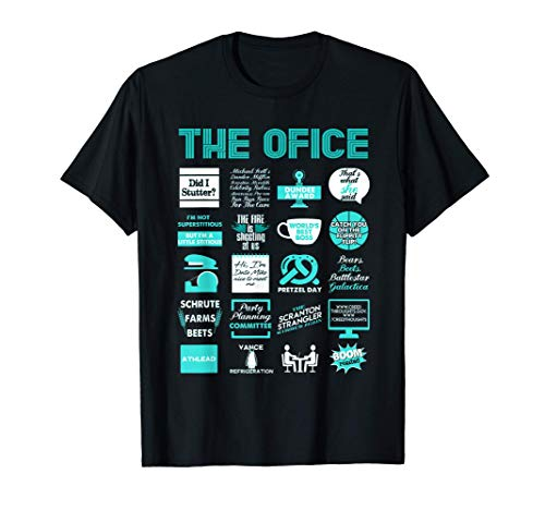 The Office Quote Mash-up Funny T-Shirt