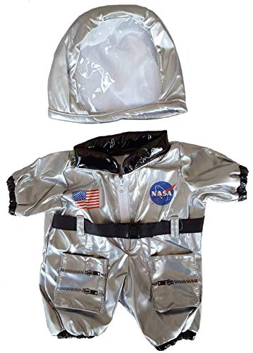 Astronaut Costume Outfit Teddy Bear Clothes Fits Most 14' - 18' Build-a-bear and Make Your Own Stuffed Animals