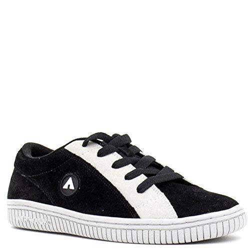 Airwalk Mens Random Black Athletic Skate Shoes 11