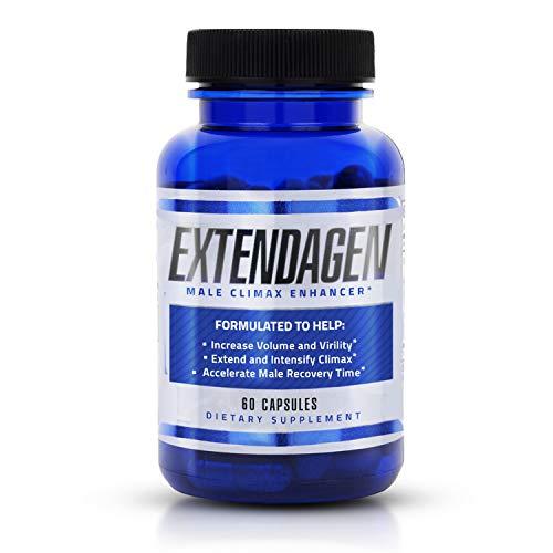 Extendagen - Male Fluid Enhancer & Volumizer Supplement Pills for Extended Performance - Boost Energy & Recovery - (60 ct)