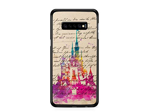 Kaidan Samsung Galaxy Note 20 Ultra Case Watercolor Castle S20 S10 S9 S8 + S10e Vintage Book Page iPhone 8 7 Plus 11 12 Pro Max SE 2020 Fairy Tale Magic XR X XS 5 5S 6S 6 Google Pixel 3 XL 2 appd626