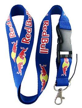 REDBULL Blue Lanyard and Bottle Opener - DGK neck lanyard - 25mm x 50cm