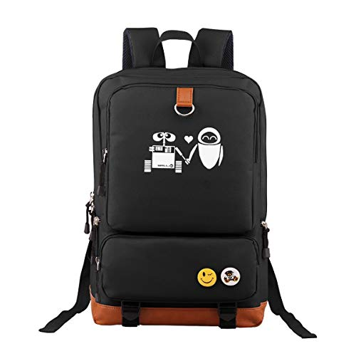 Ausan Davis Cartoon Backpack Outdoor Hiking Daypacks Laptop Backpacks Vintage School Bag for Men Women Travel Bags