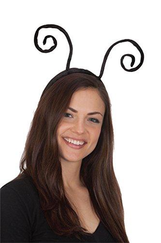 jAc Jacobson Hat Company Black Velvet Antenna Headband
