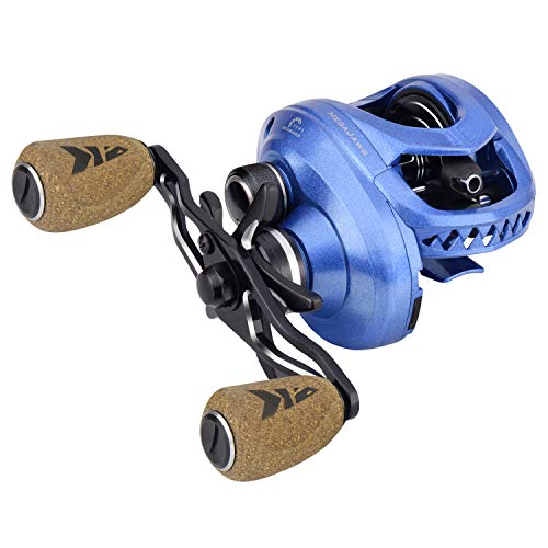 KastKing MegaJaws Baitcasting Reel,6.5:1 Gear Ratio,Right Handed Fishing Reel,Pelagic Blue