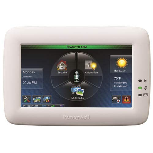 Honeywell Ademco TUXWIFIW Tuxedo Touch Controller w/ Wi-Fi, White (6280i) 7' Screen