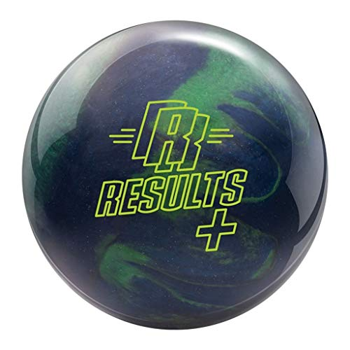 Radical Bowling Products Results Plus Bowling Ball - Emerald Green/Midnight Blue 15lbs