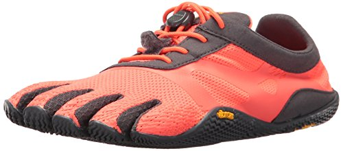 Vibram Women's KSO evo Running Shoe, Coral/Grey, 38 EU/7-7.5 M US