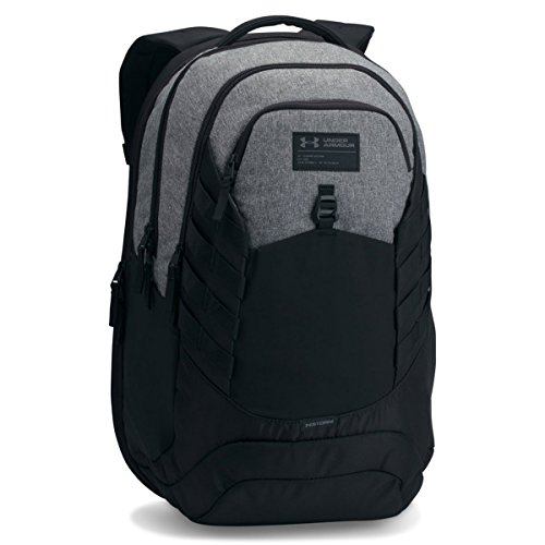 Under Armour Hudson Backpack, Graphite (040)/Black, One Size Fits All Fits All