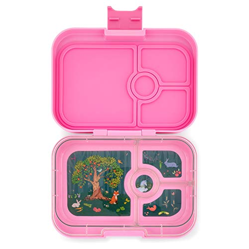 Yumbox Panino Leakproof Bento Lunch Box Container for Kids & Adults (Stardust Pink)