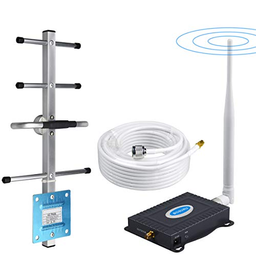 AT&T Cell Phone Signal Booster 4G LTE Band12 /17 700Mhz US Cellular T-Mobile ATT Cell Phone Booster AT&T Mobile Signal Booster AT&T Cell Phone Signal Amplifier Antenna Kit Boost Data+Voice for Home