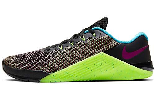 Nike Metcon 5 AMP Training Shoe Black/FIRE Pink-Green Strike-Blue Fury Size 12