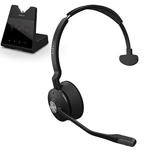 Jabra Engage 65 Wireless Headset, Mono – Telephone Headset with Industry-Leading Wireless Performance, Advanced Noise-Cancelling Microphone, Call Center Headset with All Day Battery Life