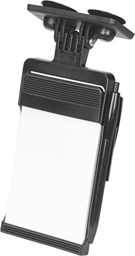hr-imotion Notepad & Pen with suction mount [Made in Germany | Paper size: 12 x 8,5 cm] - 10311001
