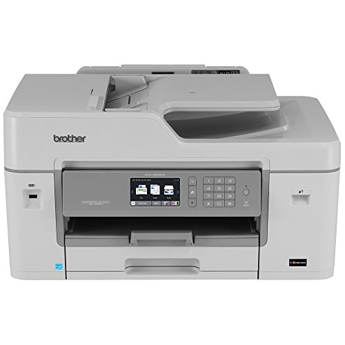 Brother MFC-J6535DW All-in-One Color Inkjet Printer, Wireless Connectivity, Automatic Duplex Printing, Amazon Dash Replenishment Ready