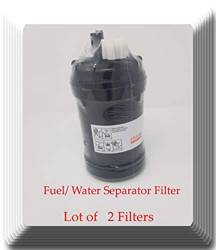 FS1098v [ 2 Fitler ] V-Pro H.D Fuel/Water Separator PCV Valve for Cummins repalces: 5319680 FS1098