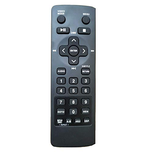 Universal Replacement Remote Control Fit for RCA DRC79982 DRC79982V2 Car Entertainment System DVD Player (1pc)