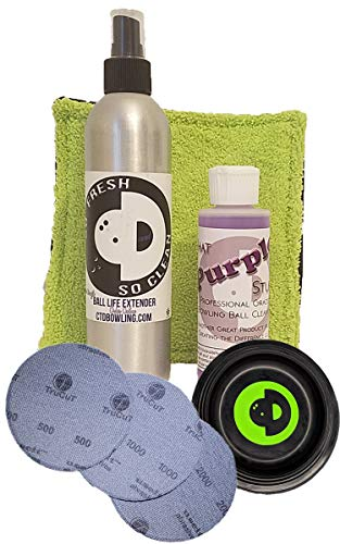Creating the Difference Bowling Ball Surface Management Kit