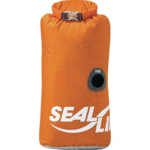 SealLine Blocker PurgeAir Dry Sack Waterproof Stuff Sack, Orange, 30-Liter