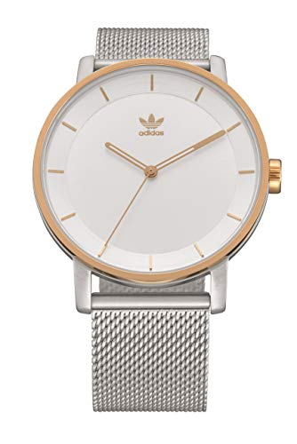 Adidas Watches District_M1 (40mm Case) - Silver/Gold
