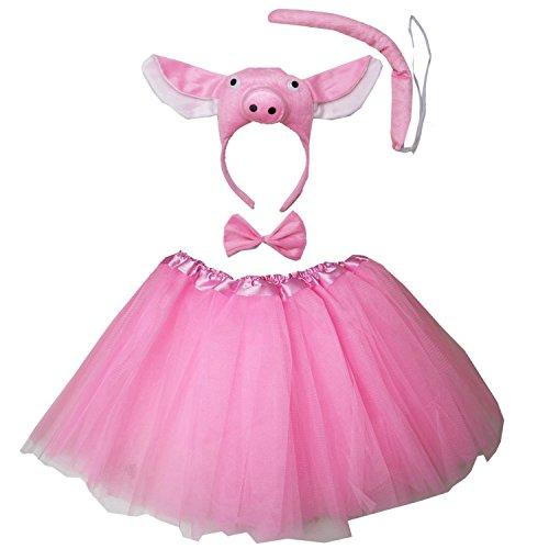 Kirei Sui Pig 3D Costume Tutu Set