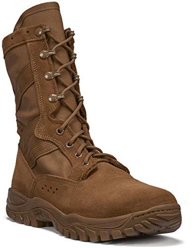 B Belleville Arm Your Feet Men's ONE XERO C320 Ultra Light Assault Boot, Coyote - 11.5 W