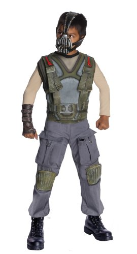 Batman Dark Knight Rises Child's Deluxe Bane Costume and Mask - Large