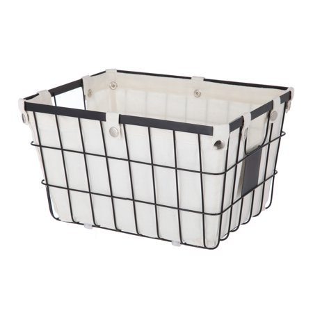 Better Homes and Gardens Small Wire Basket with Chalkboard (4 Piece)
