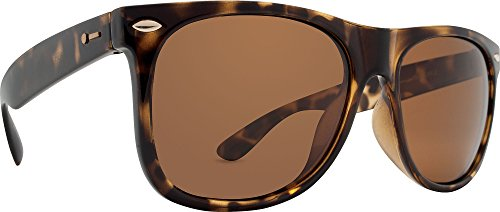 Dot Dash Kerfuffle Adult VC Polarized Sunglasses, Tortoise/Bronze