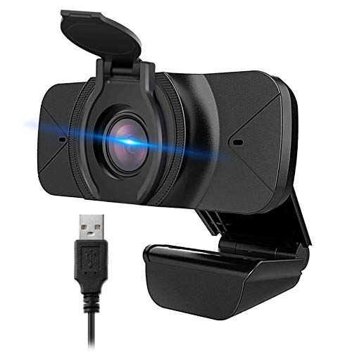 NZACE 1080P Webcam with Microphone, Web Cam USB Camera, Computer HD Streaming Webcam for PC Desktop & Laptop w/Mic, Wide Angle Lens & Large Sensor for Superior Low Light