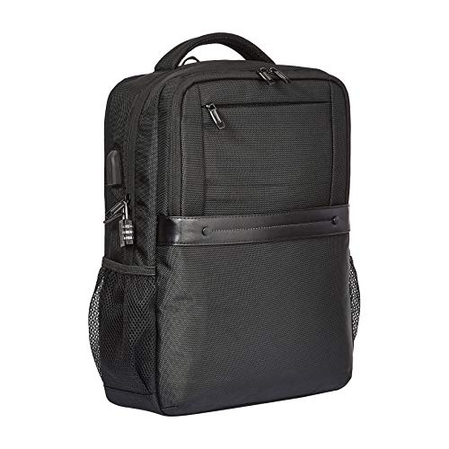 AmazonBasics Anti-Theft Premium Backpack - Black