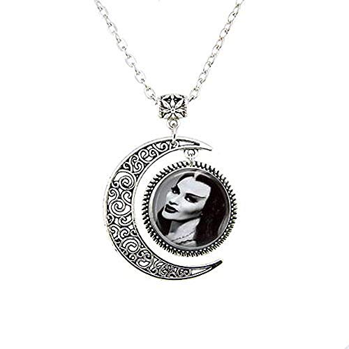 Lily Munster Moon Necklace