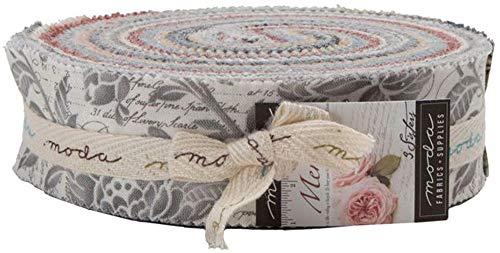 3 Sisters Memoirs Honey Bun 40 1.5-inch Strips Moda Fabrics 44210HB