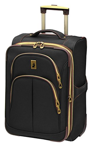 London Fog Coventry UL Collection 21 Inch Expandable Upright, Black, One Size