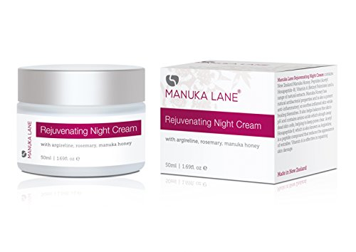 Anti Aging Night Cream with Retinol, Manuka Honey, and Peptides - by Manuka Lane | Real Anti Aging Results for Youthful, Healthy Skin