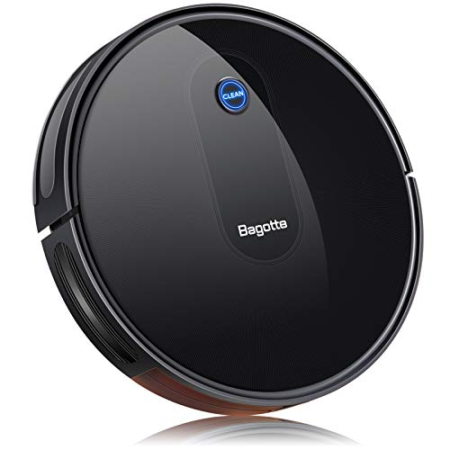 Robot Vacuum, Max Suction Robotic Vacuum Cleaners, 2.7' Super Thin & Powerful battery life With Large Dust Bin, Daily Schedule, Self-Charging Vacuums, Ideal for Pet Hair, Carpet, Hardwood Floors