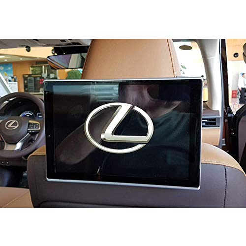 for Lexus IS200 IS250 IS300 IS350 GS300 GS430 GS450h GX460 GX470 11.8 Inch WiFi Bluetooth Android 9.0 Car TV Screen Headrest Monitor with Rear Seat Entertainment System 2PCS