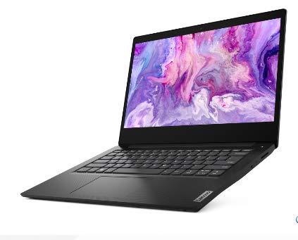 2020 Lenovo IdeaPad 3 14.0' HD LED Non-Touchscreen Laptop PC, Intel Pentium Gold 6405U Dual Core Processor, 4GB DDR4 RAM, 128GB SSD, HDMI, Webcam, WiFi, Bluetooth 5, Windows 10 S, Black