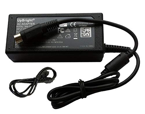 UpBright 4-Pin 12V AC/DC Adapter Compatible with LiShin LSE0219B1280 LSE9802A1280 LSE0111C1280 0219B1275 0452B1270 LSE0111B1275 Delta ADP-80AB ADP-70RB FSP FSP084-1ADC11 ZF120A-1207000 JVC LT-17C50BJ