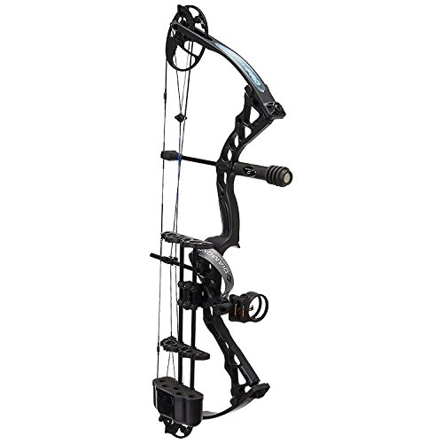 Diamond Archery Infinite Edge Pro Bow Package, Black Ops, Right Hand