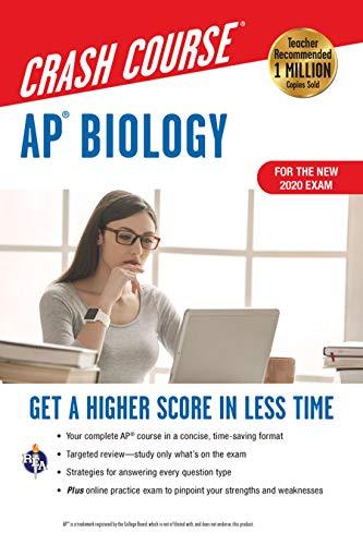AP Biology Crash Course, Book + Online: Get a Higher Score in Less Time (Advanced Placement (AP) Crash Course)