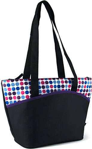 Thermos Raya Disco Dots Insulated 9 Can Lunch Tote