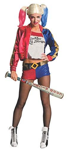Rubie's Unisex-Adult's DC Comics Suicide Squad Inflatable Harley Quinn Bat, Multi, One Size